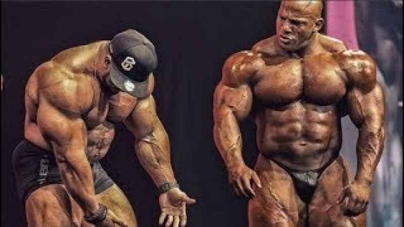 Big Ramy and Roelly Winklaar