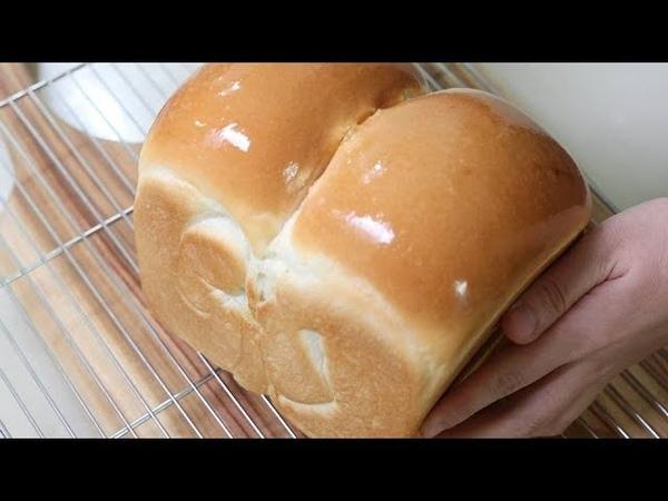 식빵만들기How to make very soft and fluffy white bread from my hands/no egg