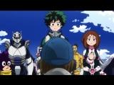 Boku no Hero Academia ТВ 3 19 серия русская озвучка OVERLORDS / Моя геройская академия 3 сезон 19