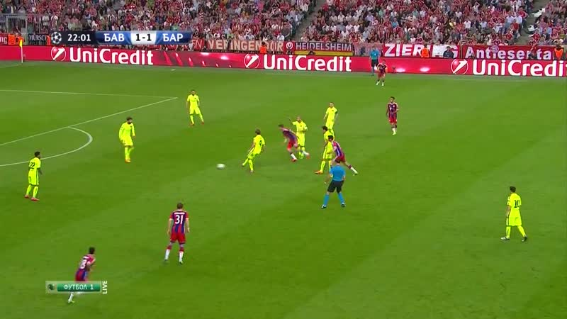 UCL Semifinal 2014-15 FC Bayern Munich - FC Barcelona 1P