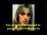 74  Ian Hunter and Mick Ronson   Women's Intuition 1990 with lyrics