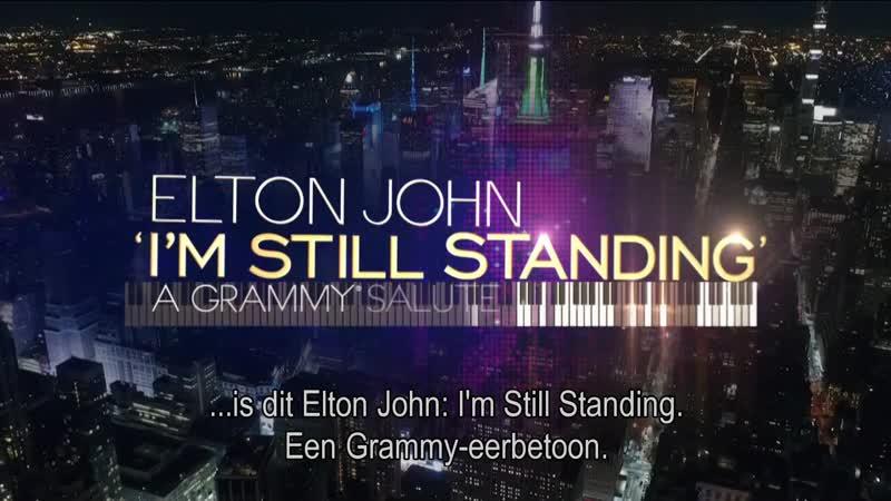 Elton John. I'm Still Standing, A Grammy Salute 2018