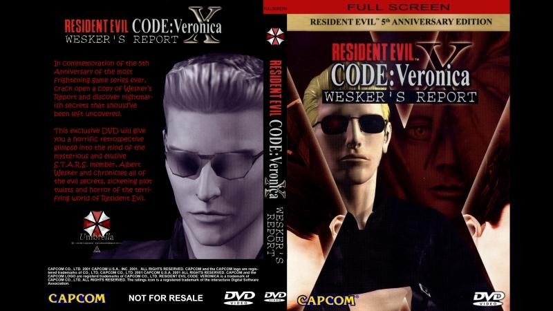 RESIDENT EVIL Code: Veronica X - WESKER'S REPORT / Отчет Вескера [ РУС СУБТИТРЫ С YOTUBE ].HD.1080.p