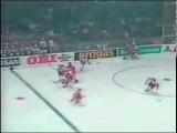 Чемпионат мира по хоккею 1990, Швейцария, групповой этап, СССР-США, 10-1, 1 место, Давыдов Евгений