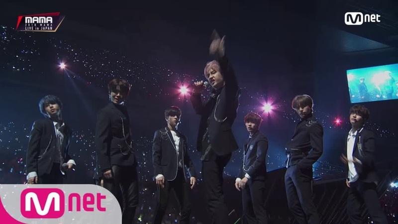 Stary Kids_Overdose Growl / EXO│2018 MAMA FANS' CHOICE in JAPAN 181212