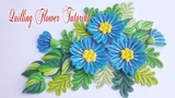 Quilling Flower V1 Tutorial flor de papel quilling tutorial