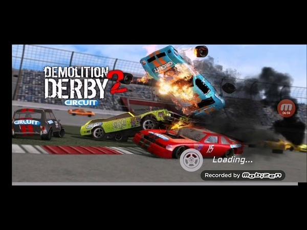 Играю в Demolition Derby 2.