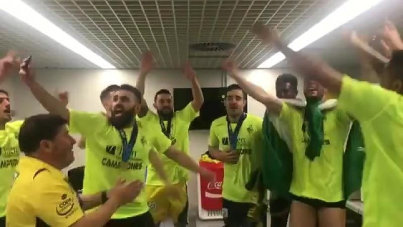 @wendellpereira94 vuelve a hacer de maestro de ceremonias. Esta vez como Campeón de la Copa de España @ComunidadMadrid 2018 con