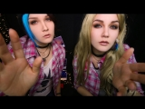 [ASMR KittyKlaw] АСМР ✨ убежим с Рэйчел и Хлоей 🚬 Ролевая игра|ASMR ✨ will flee with Rachel and Chloe 🚬TWIN Role Play