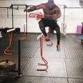 Tony Sentmanat on Instagram Explosive and speed work combined with heavy sled pushing!!! _ _ #fitnessmotivation #fitnessjourney #fitnessinspirati...
