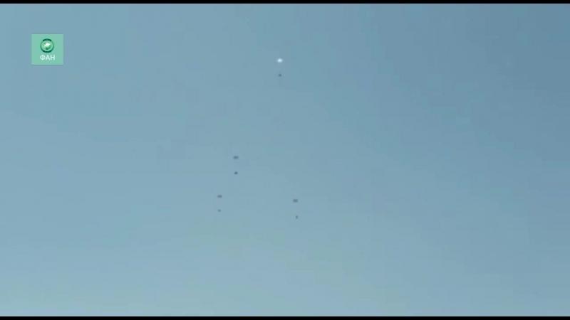 Сирийские самолеты прислали почту мирным жителям Идлиба