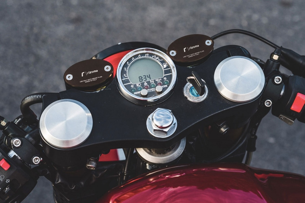 Иэн Кеттерер: масл-кафе рейсер Yamaha XJR1300