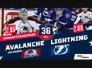 НХЛ 2018 19 РЧ Тампа Бэй Колорадо 08 12 2018