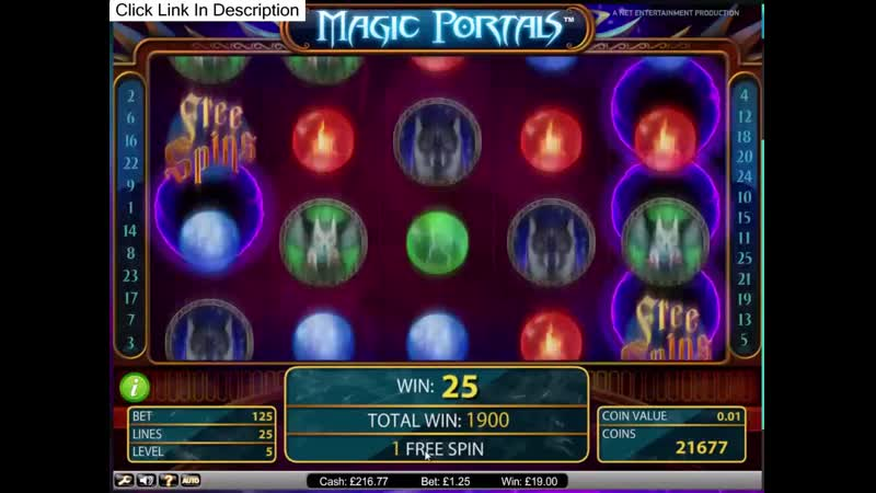 Amazon wild slots Magic Portals 50 c gambling machine