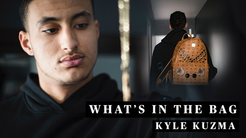 Kyle Kuzmas Travel Essentials