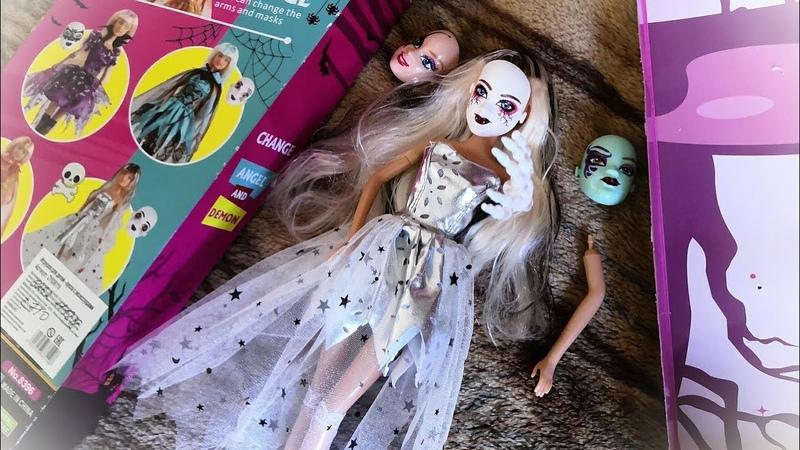АСМР Обзор куклы Defa Lucy шепот ASMR распаковка Дефа Люси Маскарад