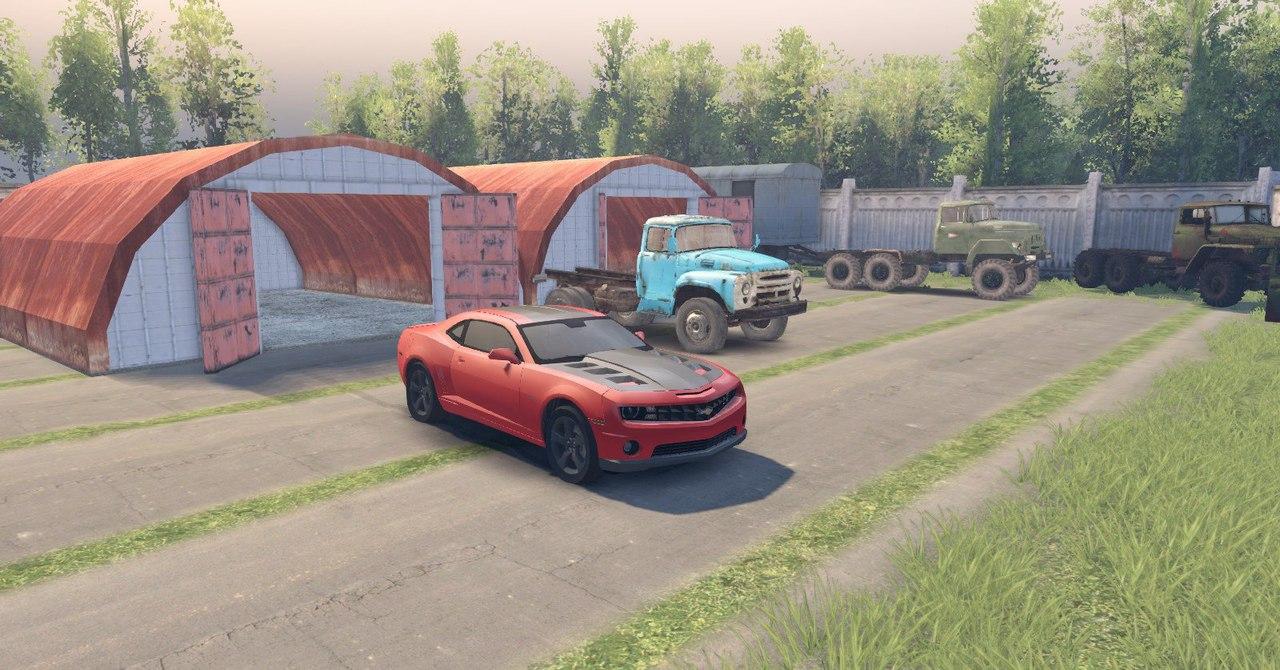 Chevrolet Camaro для Spintires - Скриншот 2