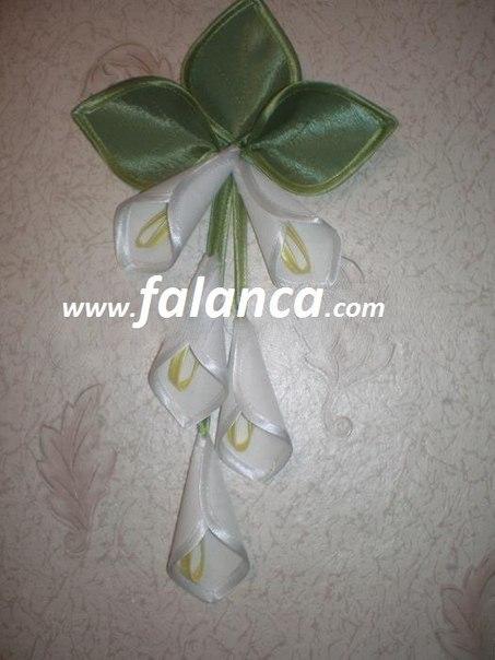 Цветок на шторы мастер класс