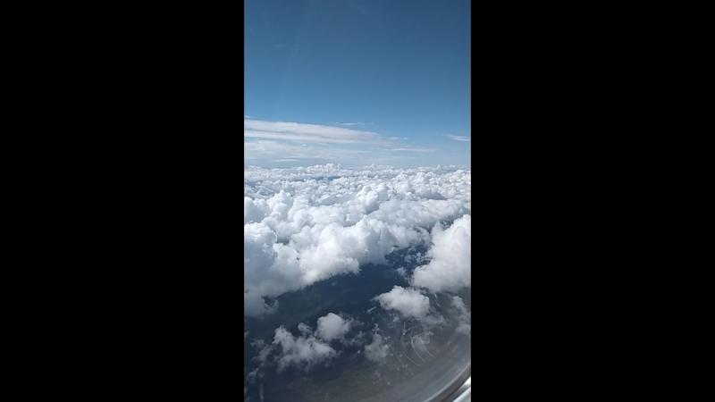 Летний снег на небе Красота