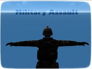 Military Assault Загружаю игру