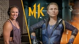 Mortal Kombat 11 Ронда Роузи в роли Сони Блейд