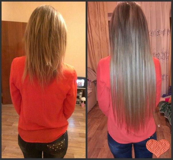прядей наращивание фото 120 волос