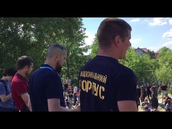 Ми не допустимо реваншу антиукраїнських сил, спікер Нацкорпусу
