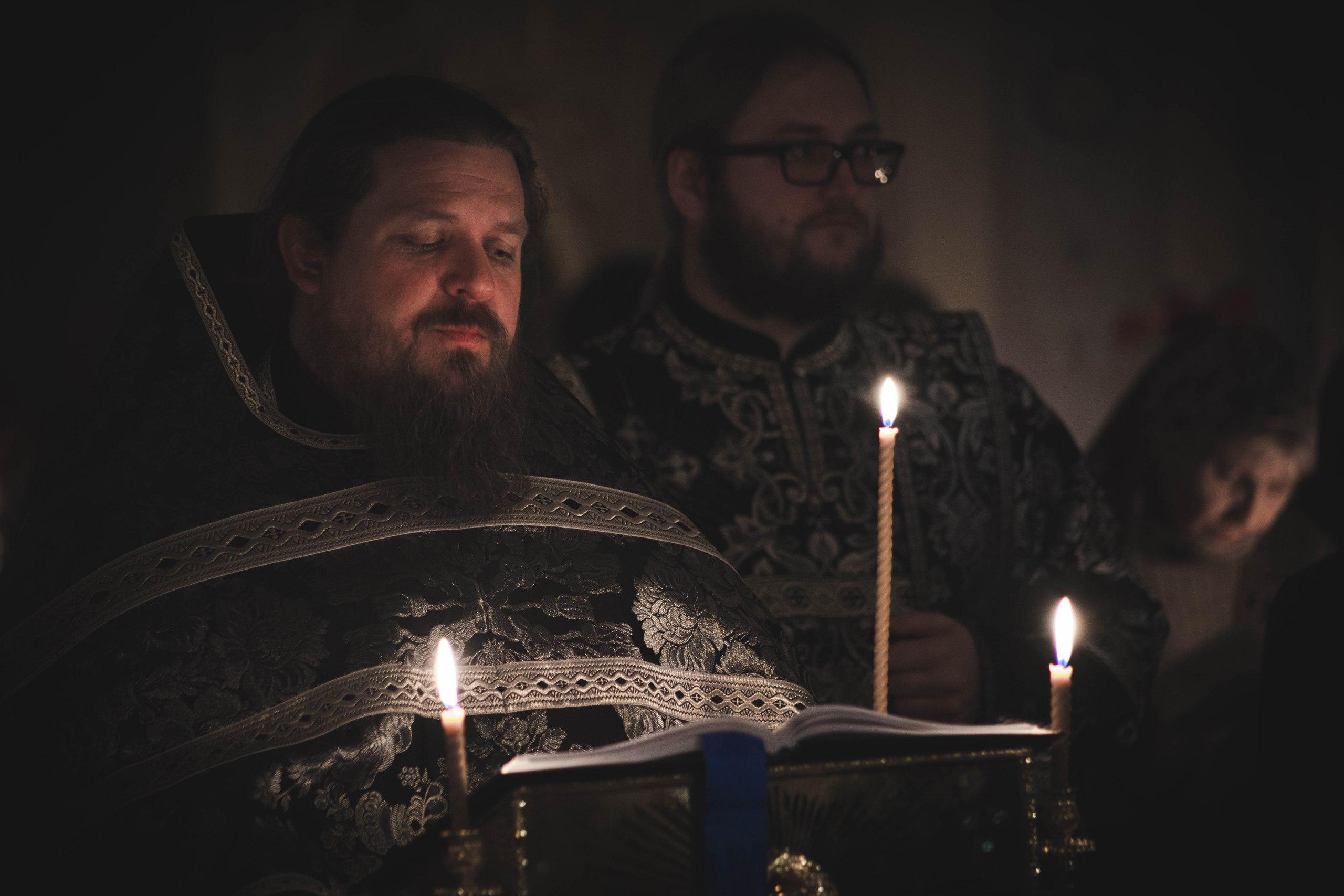 Богослужение в Четверток Великого канона