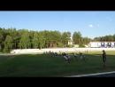 13 08 2018 Тренировка на улице Челночный бег