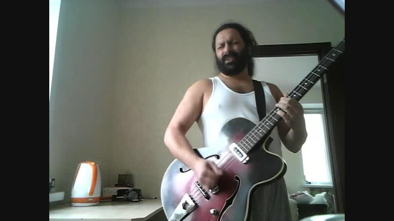 I DON'T WANT TO LOOSE YOU a cool bluesy jam improvisation . I hope you like it .