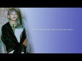 BTS V - 'We Don't Talk Anymore' (Audio Edit + Cover) Eng lyrics