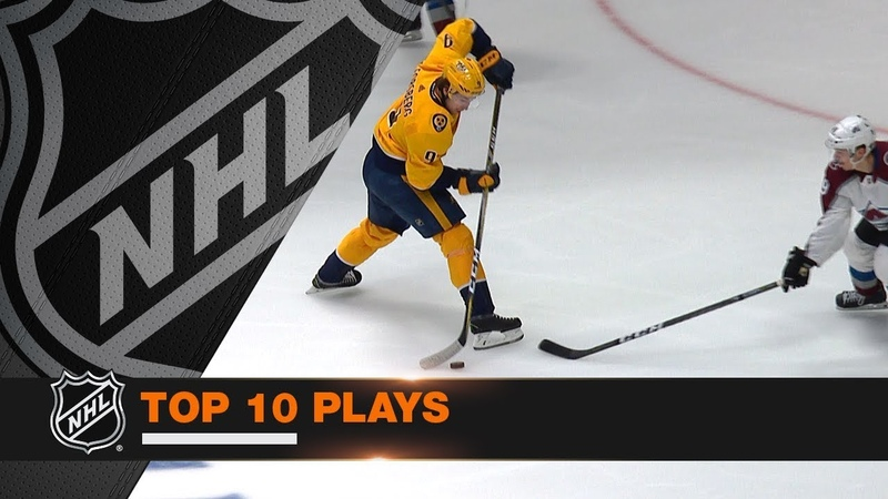Top 10 Plays of the 2018 Stanley Cup Playoffs