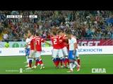 Сборная России - сборная Чехии. Гол Алексея Ионова