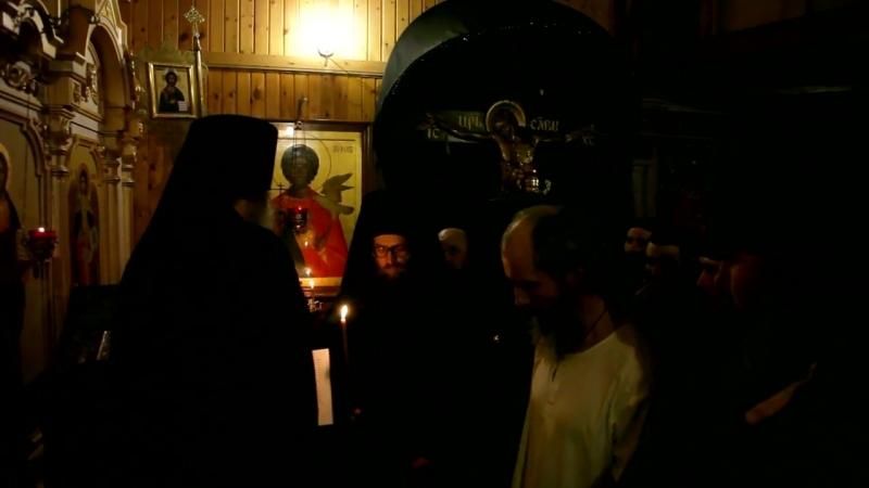 Постриг - отец Аристарх, отец Варнава