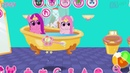 Замок принцесс для маленьких принцесс карманных поняшек Мультик игра для детей