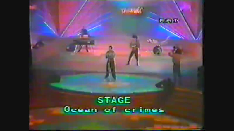 Stage Ocean Of Crime 1985 RAI