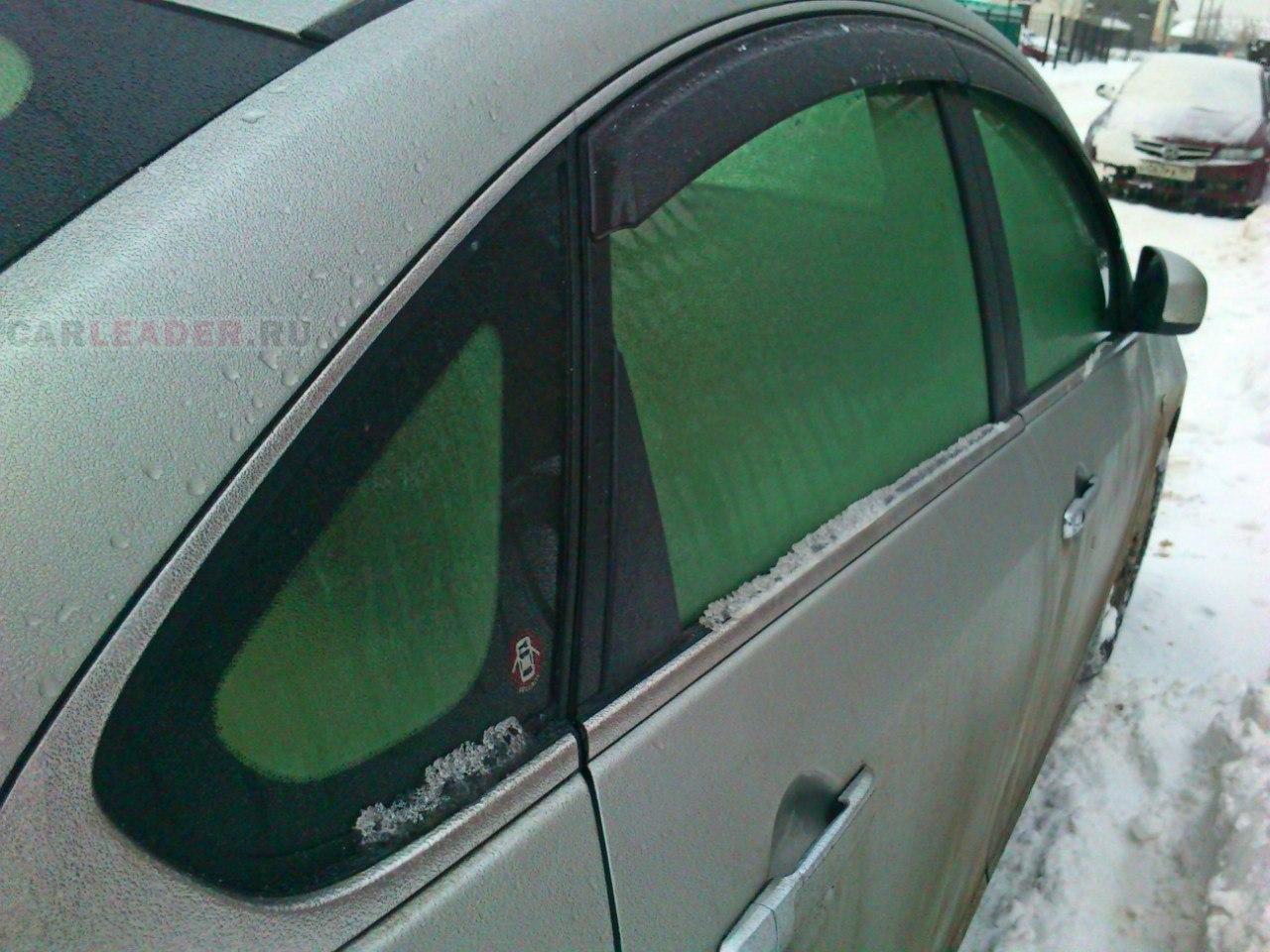 Зеленые атермальные стекла Nissan Bluebird Axis