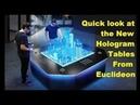 Introducing the World's First Multi-User Hologram Table - from Euclideon