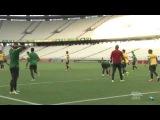 Oscar perde gol incrível em recreativo na Arena Castelão, palco da partida contra o México