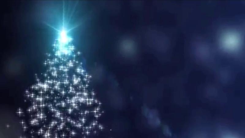Сверкающая Новогодняя Елка Футаж