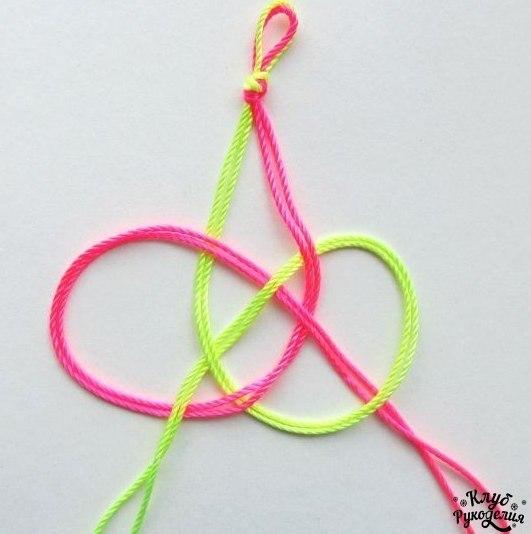 Уроки по плетению браслетов из резинок на рогатке