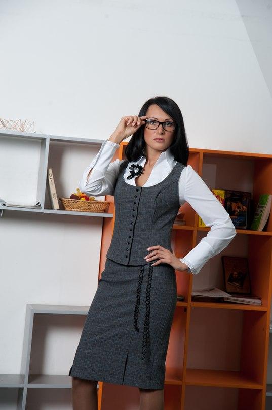 Костюм жакет с рукавом и юбка карандаш в магазинах женской одежды в Кирове и Слободском