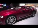 Nuova Bentley Continental GT in video dal Salone di Francoforte 2017