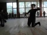 This is georgian national dance Tsdo