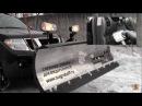 Снежный отвал SnowDogg для внедорожника Монтаж