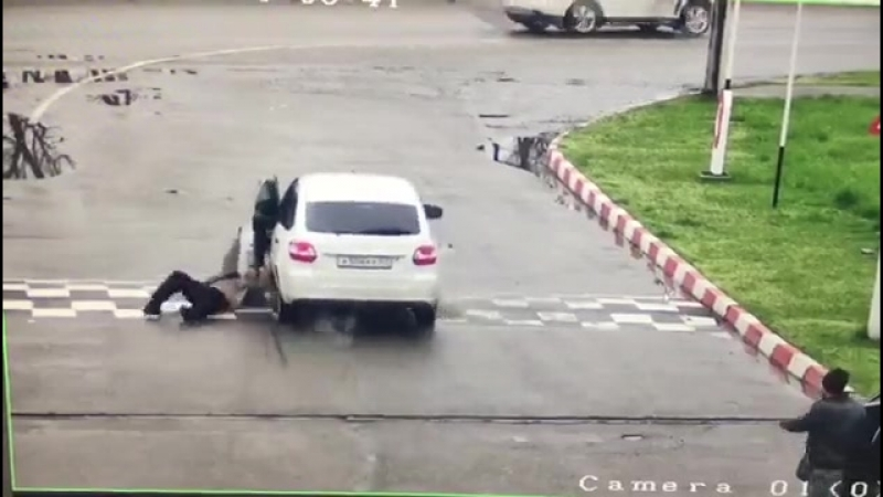 Угон Автомобиля на заправке в Майкопе