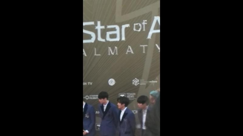 Astro in Almaty Red carpet
