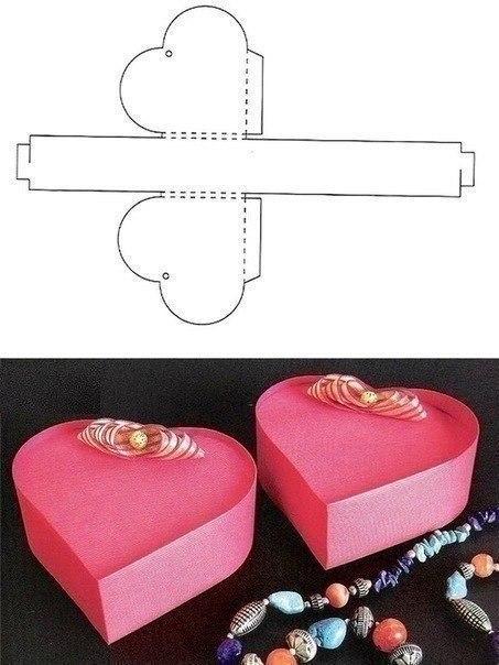 Как сделать коробочки для подарков своими руками