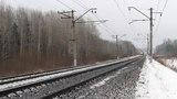 ВЛ11 562 и 3ТЭ10У 0076 с грузовыми поездами на перегоне Балезино - Шур Горьковской железной дороги.