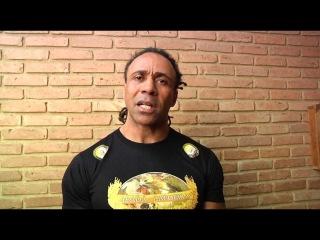 Mestre Charm faz homenagem ao Mestre Camisa Roxa